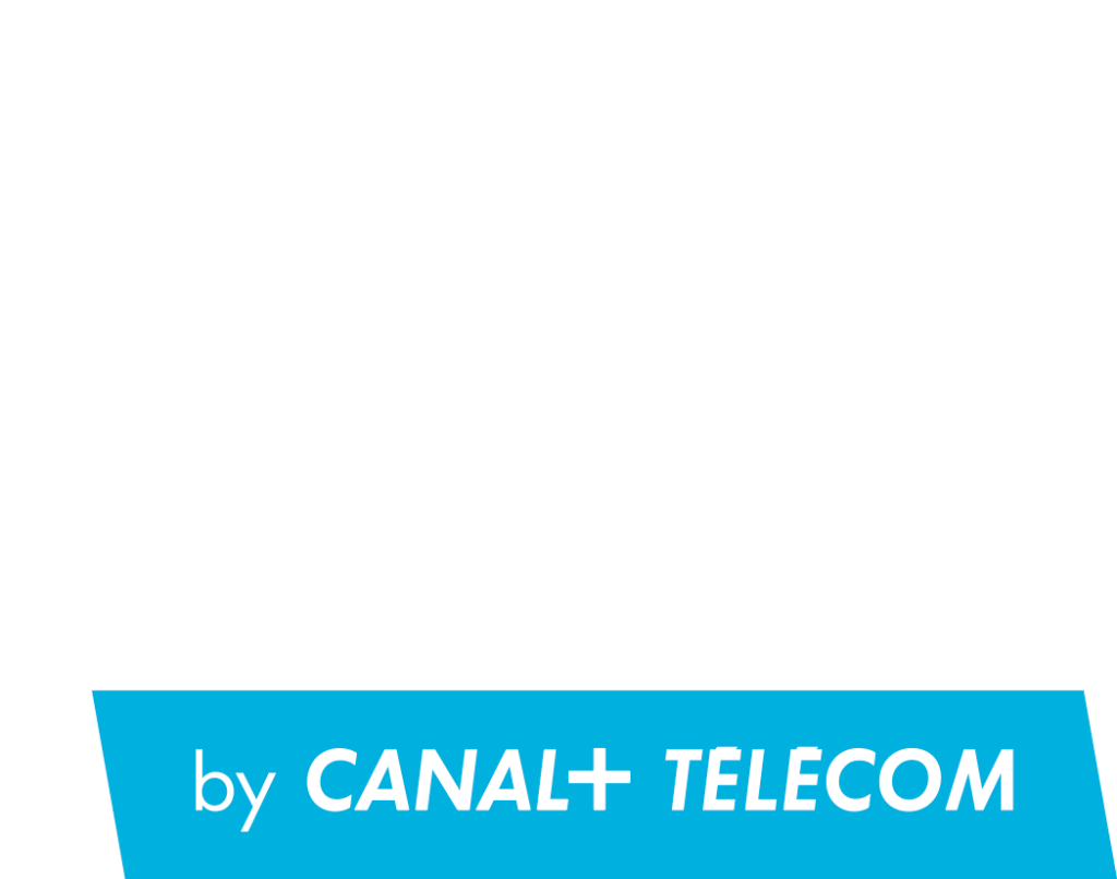 logo canal+ business blanc